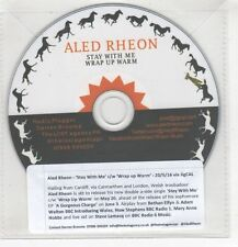 (HF772) Aled Rheon, Stay With Me / Wrap Up Warm - 2016 DJ CD