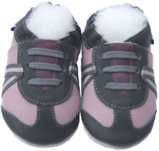 Girl Crib Shoes Soft Sole Leather Baby Infant Kid Toddler Gift Athletic 0-6M