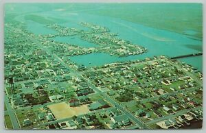 """Stone Harbor New Jersey~Aerial Looking South From 94th St~1960 """"Fishing is Bad"""""""