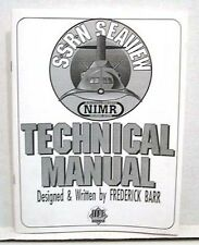 1993 Voyage Bottom of the Sea SEAVIEW Technical Manual- White Softcover Book