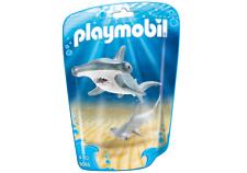 Playmobil 9065-tiburón cabeza de martillo con Bebé -!!! nuevo!!!