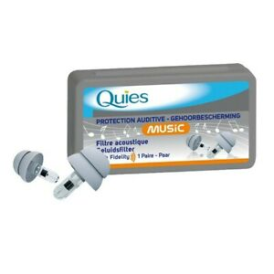 QUIES Protección Auditiva Music 1 Par