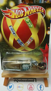 Hot Wheels Holiday Hot Rods  Pit Cruiser Moto (CP17)