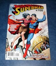 SUPERMAN #700 1st print DC COMIC 2010 JAMES ROBINSON giant anniversary issue