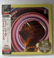 Isaac Hayes-Very Best Japon SHM MINI LP CD OBI NEUF RAR! UCCO - 9522