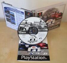 F1 CHAMPIONSHIP ps1 psx Sony PlayStation gioco game prima stampa season 2000