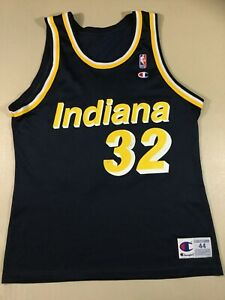 Vintage Indiana Pacers Dale Davis #32 Basketball-NBA Champion Jersey Size44