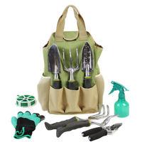 Garten Werkzeugtasche 8 Außentaschen robuste Canvas Gartenarbeit Organizer