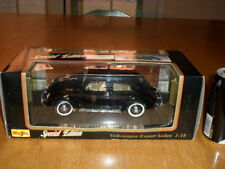 1951 VOLKSWAGEN BUG, Die Cast Metal Factory Made MAISO Toy Car, SCALE: 1/18