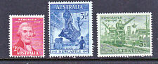 "1947 150th ANNIVERSARY OF NEWCASTLE COMPLETE SET OF ""3"" ""MINT UNHINGED"""