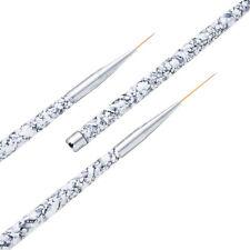 3pcs/Set Nail Art Liner Painting Pen 3D Acrylic UV Gel Brushes Drawing Tips Tool