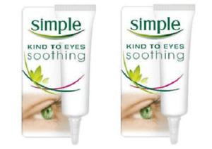 2 x Simple Soothing Eye Balm  (2 x 15ml)