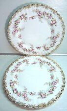 "Royal Albert Bone China DIMITY ROSE THREE (3) 8"" Salad Dessert Plates"