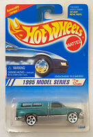 1995 Hotwheels Dodge Ram 1500 Hemi Pick Up! Variant White Wheels!Very Rare! MOC!