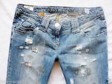 River Island Denim Straight Leg Faded Jeans for Women