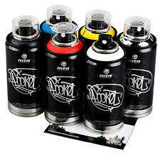 Sprühdosen MTN Graffiti Pocket Cans klein bunte Farben im Set 6x150ml