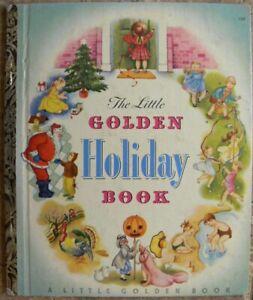 Vintage Little Golden Book ~ THE LITTLE GOLDEN HOLIDAY BOOK - Eloise Wilkin