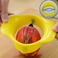 Edelstahl Kunststoff Mangoschäler Birnenteile Apfel Mangoschneider Mango Teiler