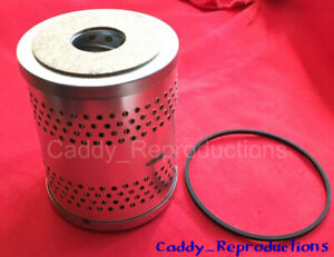 1937- 1942 Cadillac Original Style Canister Oil Filter