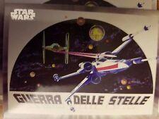 2017 Star Wars 40th Anniversary #113 Italian Star Wars Poster Art Michaelangelo