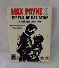 Max Payne 2: The Fall of Max Payne PC Video Game 2003 Rockstar Games 2-Disc