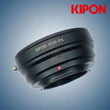 New Kipon adapter for Canon EOS EF Mount lens to Fuji X-Pro2 X-T2