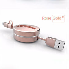 2 in1 Retractable Light&Micro USB Data Sync Cable Charger Cord For iPhone X