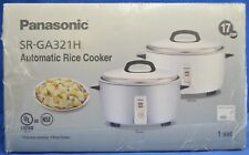 NEW Panasonic SR-GA321H 17 Cup Commercial Automatic Rice Cooker Keep Warm Mode