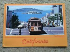 JOHN HINDE.POSTCARD.CALIFORNIA..POSTED 1988  2 STAMPS 30c.and 6c.
