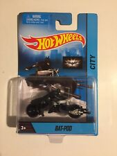 "Hot Wheels~ 2013 ""Bat-Pod"" The Dark Knight Trilogy~1:64,Brand~HTF! New!,NM!,Read"