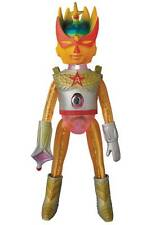 ULTRA ACTION BOY ASTRO-MU 5 GOLDBEENA SOFUBI VINYL ACTION FIGURE  MEDICOM NEW