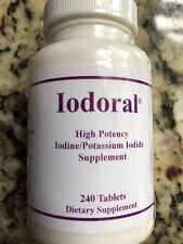 IODORAL 12.5 mg 240 Tabs OPTIMOX High Potency Iodine/Potassium Iodide Supplement
