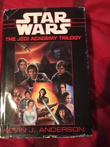 Star Wars: The Jedi Academy Trilogy Kevin J Anderson Hardcover