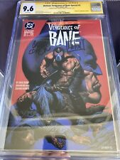 Batman: Vengeance of Bane #1  CGC 9.6  * Signed by Chuck Dixon & Graham Nolan *