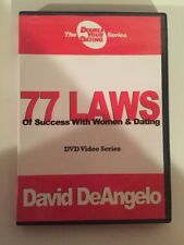 David DeAngelo's 77 Laws of Success W/ Women Double Your Dating DVD Video Series