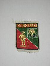 Vintage Patch - Bruxelles, Belgium 5 x 7.5cm