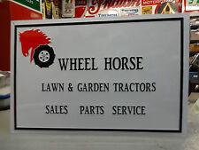 WHEEL HORSE DEALER SIGN PARTS & ACCESSORIES,TRACTOR ,MOWER