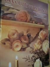 Decorative Painter Magazine May/June 1997 #3 - Leisure's Glowing Roses, Cat, Bir