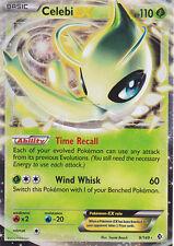 Pokemon Boundaries Crossed Celebi EX 9 Super Rare Card