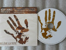 CD-KERY JAMES-RELEVE LA TETE-ARSENIK/113/DIAMS/PASSI/MATT-(CD SINGLE)2004-4TRACK