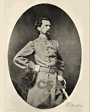 Major General John B. Gordon CSA • SIGNED PRINT