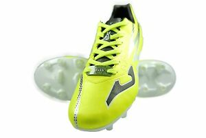 Authentic Propulsion Joma Firm Ground Soccer Cleats Color Fluor-Black