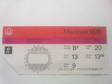 Billet Jeux Olympiques Montréal 20.07.1976 - boxe (13:00)