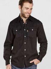 Hombre Duke Vaquero Camisa Denim
