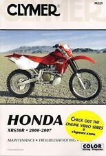 2000 - 2007 Honda XR650R Clymer Maintenance Troubleshooting Repair Manual M225