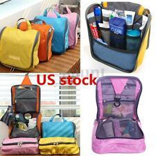 Makeup Toiletry Bag Hanging Travel Stroage Folding Wash Cosmetic Organizer Case