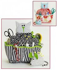 SEWING CATTY & PINCUSHION MOUSE SEWING PATTERN, From Cotton Ginnys NEW