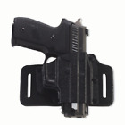 Galco Tac Slide Belt Holster (Black), Sig-Sauer P226 with Rail, Right Hand