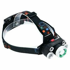 LED Headlamp By Purpose Force: Rechargeable Headlight Assembly With Zoomable ...