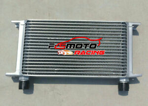 Universal Mocal style 19 Row Engine Transmission 10-AN AN10 Oil Cooler oilcooler